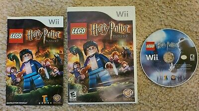 Wii Lego Harry Potter Years 5-7 complete