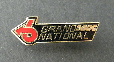 BUICK GRAND NATIONAL AUTOMOBILE CLASSIC CAR LAPEL PIN BADGE 1/2 INCH