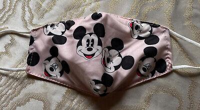 Maske Mickey Mouse Mund Nase Gesicht Baumwolle Disney Mund Nasen Schutz Neu