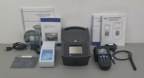 Hach DR/2400 Spectrophotometer Sension156 Meter 2100P Turbidimeter w/ Case & Acc