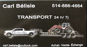 Transport disponible partout