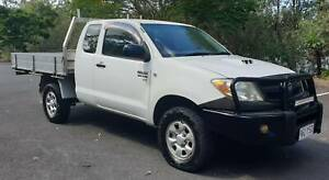 2005 TOYOTA HILUX KUN26R 4X4 MANUAL 3.0L TURBO DIESEL X CAB UTE Mudgeeraba Gold Coast South Preview