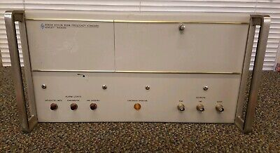 Hp - Agilent - Keysight 5060a Cesium Beam Frequency Standard Untested