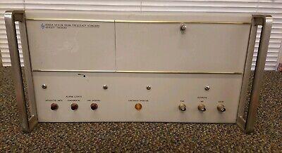 Hp - Agilent - Keysight 5060a Cesium Beam Frequency Standard Untested