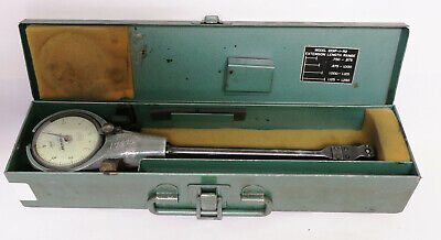 Federal .0001 In C1k Dial Bore Gage 0.750-1.250 In With Metal Case 1201p-1-r2