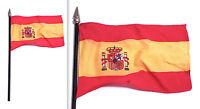 Bandiera Bandierina Da Collezione - Spagna - In Tessuto Asta E Puntale -  - ebay.it