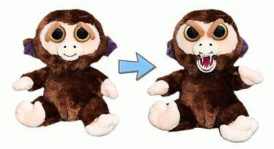Feisty Pets by William Mark- Grandmaster Funk- Adorable 8 Plush Stuffed Monkey