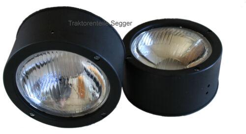 2 Stück Scheinwerfer Frontscheinwerfer Einbauscheinwerfer 5506 6006 6206 Foto 1