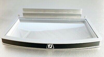 Footjoy Golf Fj Lot Of 6 Slatwall Shoe Fixture Display Shelves Mirror Mint