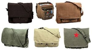 Vintage-Canvas-Shoulder-Bags-Stylish-Work-School-Classic-Messenger-Bag-Packs