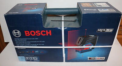 Bosch Gcl100-80c 12v Max Connected Cross-line Laser Wplumb Points