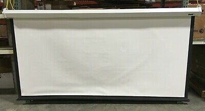 Da-lite Model C With Csr Wide Format Projection Screen 123 20902 Used