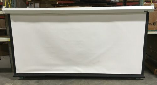 "Da-Lite Model C with CSR Wide Format Projection Screen 123"" - 20902"