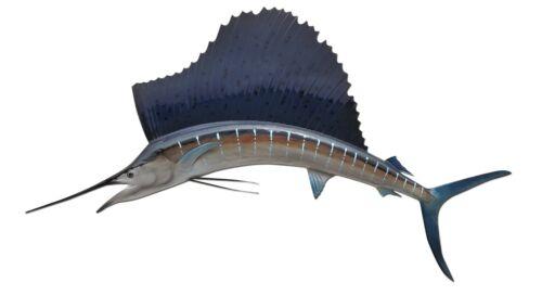"55"" Sailfish Half Fish Mount Replica - 15 Business Day Production Time"