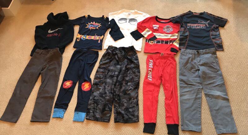 Boys Huge Lot Of Outfits Sleepwear And More Gymboree OshKosh  Nike  Size 6