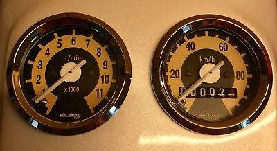 Tachometer / Drehzahlmesser 48mm passend für Simson Schwalbe S51 S50 NEU! gebraucht kaufen  Bad Köstritz