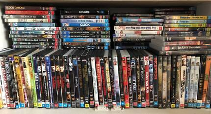 DVD Collection - Over 200 Titles