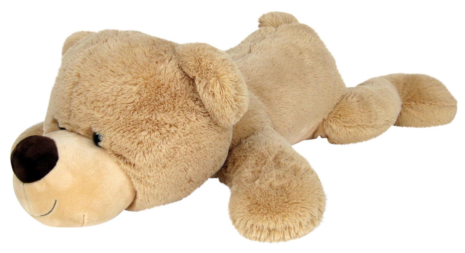 xxl riesen teddyb r 140 cm gross beige pl sch b r teddy stoffb r pl schtier b r eur 58 95. Black Bedroom Furniture Sets. Home Design Ideas