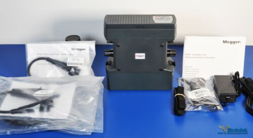 Megger DLRO10 10A Low Resistance Ohmmeter NIST Calibrated Micro-Ohmmeter