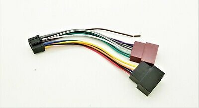 Pioneer Zenec ISO Wiring Harness Connector Adaptor Lead Loom Cable Wire Plug