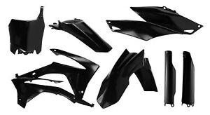 Acerbis Full Plastic Kit Honda Black CRF250R 2014-2017 CRF450R 2013-2017