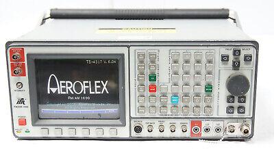 Aeroflex Ifr Fmam 1600 Communications Service Monitor Spectrum Analyzer