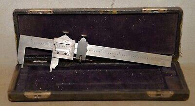 Antique Brown Sharpe 570 Collectible Vernier Caliper Original Box Machinist