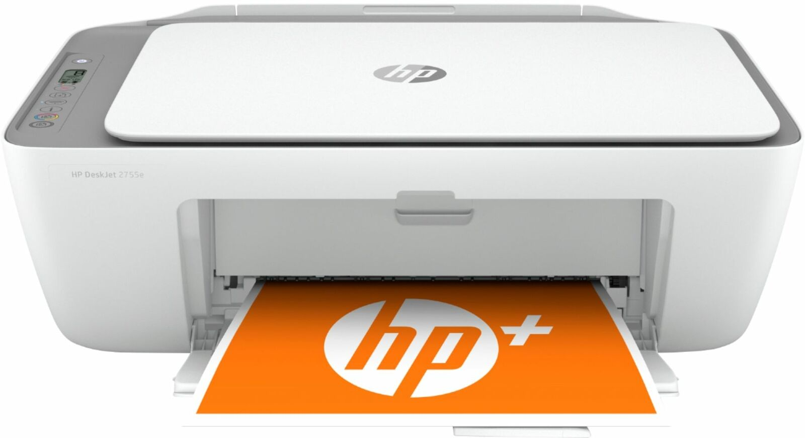 HP - DeskJet 2755e Wireless Inkjet Printer with with 6 months of Instant Ink ...