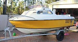 Reefcraft 16ft Half cabin Ripley Ipswich City Preview