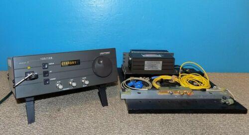 Lightwave Electronics 125/126 Laser Controller w/ 125-1319-100 1319NM 100mW Head