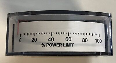 Yokogawa 185119fazz Type I85 Edgewise Panel Meter 0-1ma 0-100 Power Limit