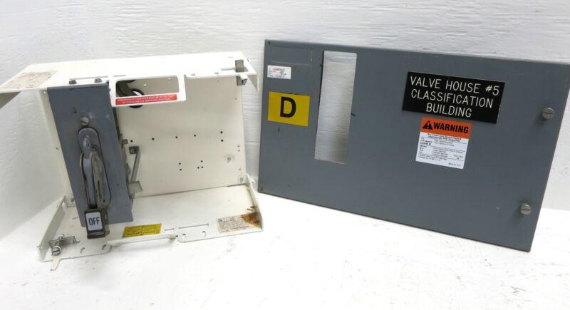 """Cutler Hammer F10 Unitrol 100A MCC Feeder Bucket Breaker Type 12"""" MCCB 100 Amp"""