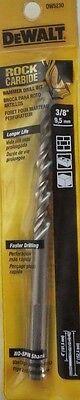 Dewalt Dw5230 38 X 6 Rock Carbide Spiral Hammer Drill Bit