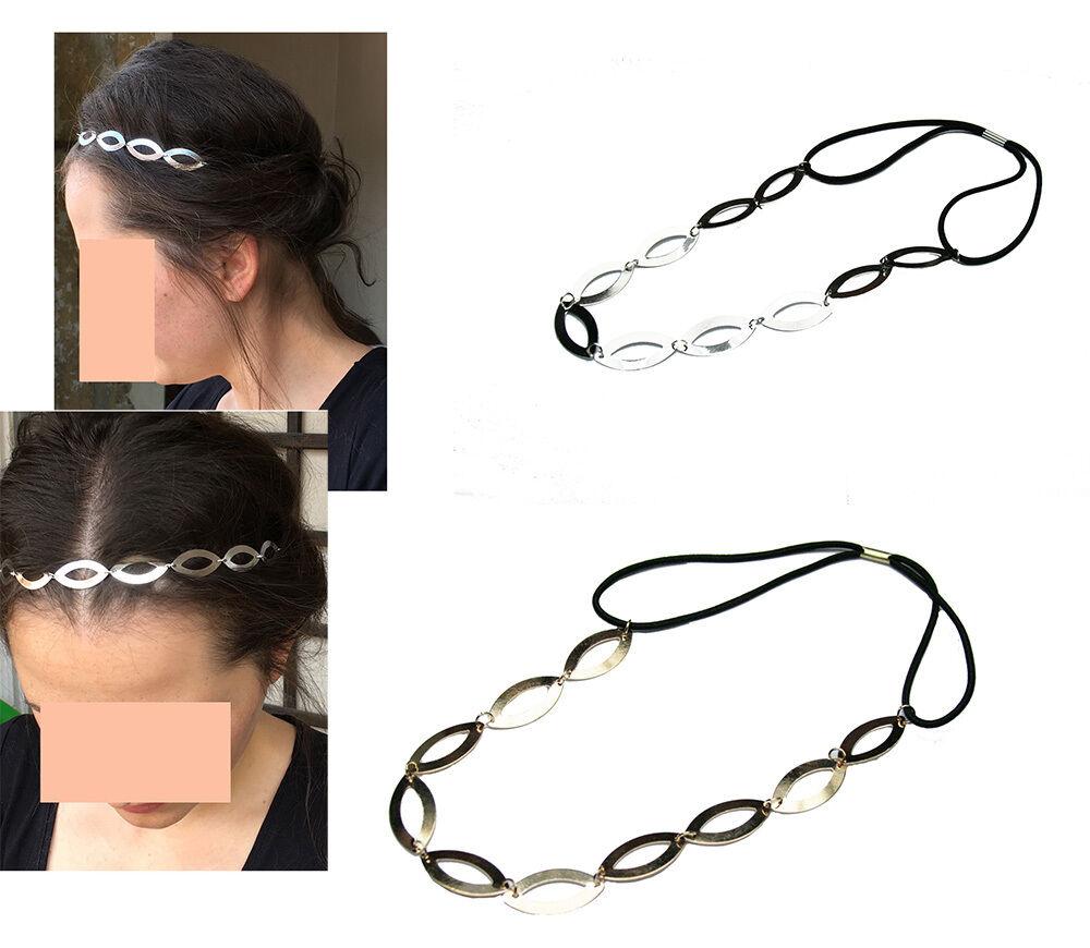 Haarband Stirnband  Vintage Haarbänder Haarkette Boho Haarschmuck TRENDFRISUREN*