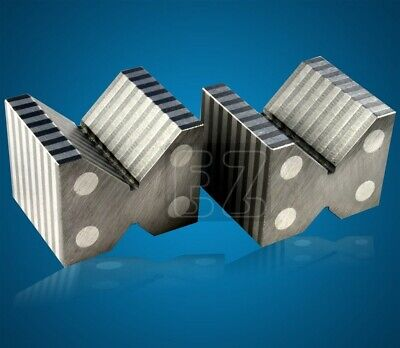 Magnetic V-blocks Pair 2x2-38x1-78 Precision Ground