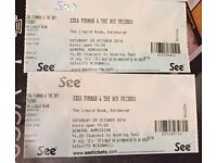 2 Ezra Furman Tickets - Edinburgh Liquid Rooms 29/10/16.