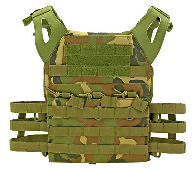 1//6 scale TMT Exclusive US Navy SEAL CQB Woodland Camo Plate Carrier