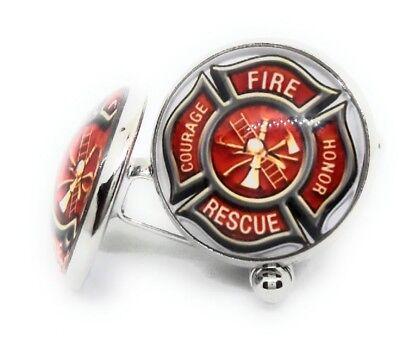 Symbol Cufflinks Cufflinks - MALTESE FIREMAN SYMBOL CUFFLINKS MANUFACTURERS DIRECT PRICES !!!