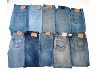 LEVI'S JEANS for Men and Women, grade B - C, ripped , frayed, 100% AUTHENTIC LEVIS