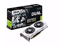 Asus NVIDIA GeForce GTX 1060 6GB DUAL OC VR Ready Gaming PC Graphics Card