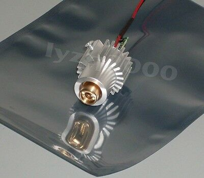 200mw 532nm Green Laser Module With Heatsink Temperature Protection 5v Input