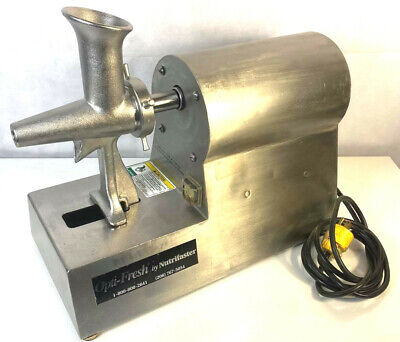 Nutrifaster Optifresh Commercial Grade Wheatgrass Juicer - Very Clean Condition.