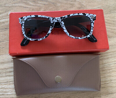 RAY BAN WAYFARER MICKEY MOUSE LIMITED EDITION SUNGLASSES WITH CASE DISNEY