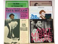 6 x Jazz LPs - FATS WALLER Vinyl LP Albums In VG condition for sale as JOB LOT - All Listed/Graded