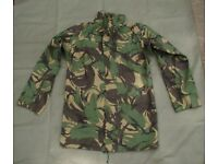 DPM Goretex Jacket / Liner - Army Issue Size 190/96 (super grade condition)