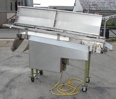 16 X 72 Incline Trough Belt Conveyor-used