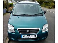 Rare Automatic 1.3 Suzukie Wagon R GL 18,650 miles from New