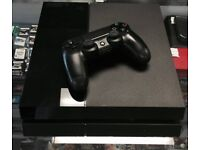 Cheap Sony PS4 + 5 Games & 2 Controllers (1 controller Limited Edition Gunmetal)