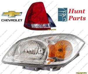 Chevrolet Head Lamp Tail Headlight Headlamp light Fog Mirror Phare Avant Arrière Anti brouillard Lumière Miroir