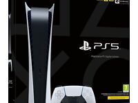 Ps5 with two controllers and charging station